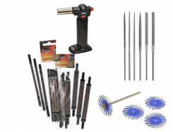 Scroll saw finishing supplies