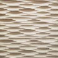 """8"""" Square Sculpted Panel - Frequency"""