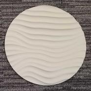 Round Sculpted Panel - Surge
