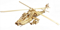 The Apache Attack Helicopter | Bear Woods Supply