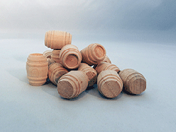 Wooden Toy Barrels | Bear Woods Supply