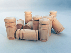 Wooden Toy Milk Cartons Cargo 1-3/4   Bear Woods Supply