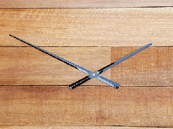 Long clock hands tapered diy clocks