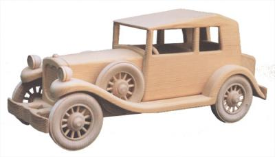 1932 Plymouth Phaeton Woodworking Plan | Bear Woods Supply