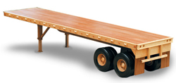 Flat Bed Trailer Woodworking Plan | Bear Woods Supply