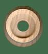 Train wheel toy wooden