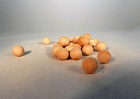 Wood Craft Ball 1/2 inch   Bear Woods Supply