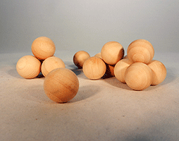 Wood Craft Ball 3/4 inch | Bear Woods Supply