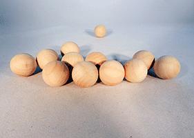 Wood Craft Ball 7/8 inch   Bear Woods Supply