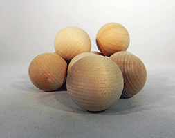 Wood Craft Ball 1-1/4 inch | Bear Woods Supply