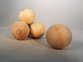 Wood Craft Ball 1-1/2 inch | Bear Woods Supply