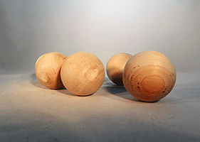 Wood Craft Ball  2 inch | Bear Woods Supply