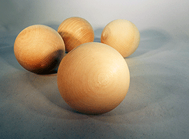 Wood Craft Ball 3 inch | Bear Woods Supply