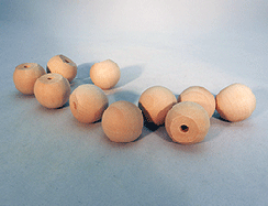 Wood Ball Knob 1 inch | Bear Woods Supply
