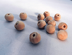 Wood Ball Knob 3/4 inch | Bear Woods Supply