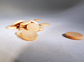 Wooden Discs For Crafts 3/4 inch | Bear Woods Supply