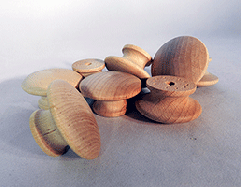 Wood Drawer Knobs 1-1/2 | Bear Woods Supply