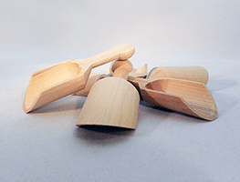 Wooden Scoops | Bear Woods Supply