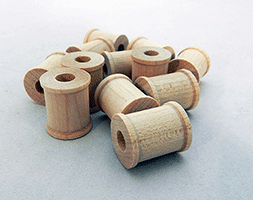Wooden Spools 3/4 inch | Bear Woods Supply