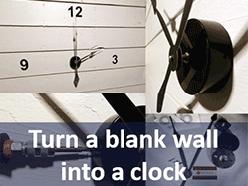 Wall clock mounting kits