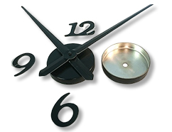 Clock Parts - Wall Clock Kits