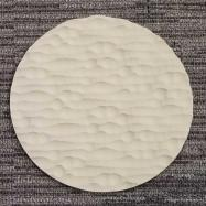 Round Sculpted Panel - Water