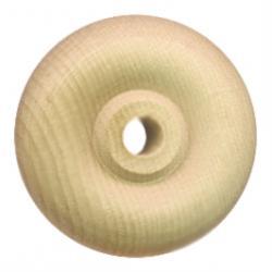 Wood toy wheel 1.25 inch