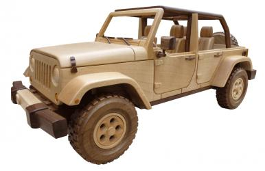 Buy the wooden Jeep Pattern Models | Bear Woods Supply