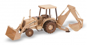 Woodworking Plans Back Hoe Tractor | Bear Woods Supply