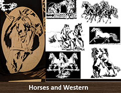 Scroll Saw Patterns of Horses