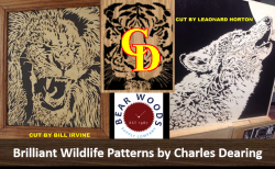 Charles Dearing wildlife scroll saw patterns