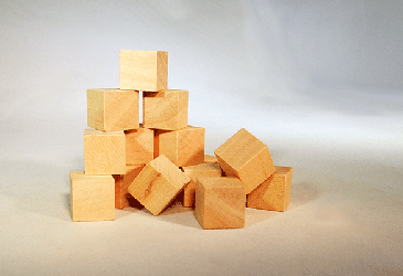 CU-062 Wood Cubes | Bear Woods Supply