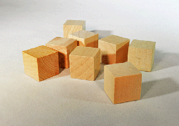 CU-075 Wood Cubes | Bear Woods Supply