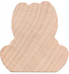 wood bunny cutout