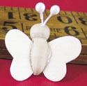 Mini wood butterfly