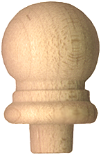 wood finials, wood finial shape