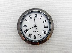 Gunmental Bezel1-7/16 Clock Insert