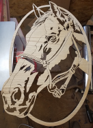 Horses scroll saw patterns