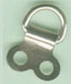 D-RING Super Ring Hanger 2 hole small - Nickel Plated