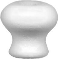 Wood mushroom knob