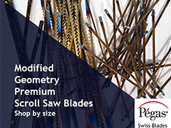 Scroll Saw Blades Modified Geometry from Pegas