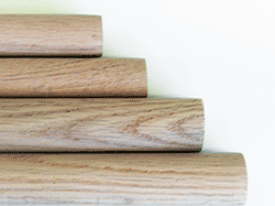 Buy Oak dowel rods, oak doweling, hardwood dowels | Bear Woods Supply