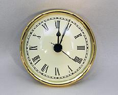 Ivory Roman Premium Clock Insert  | Bear Woods Supply