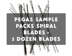Pegas spirals sample pack