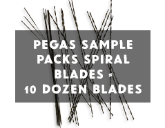 Pegas spiral 10 dozen sample pack