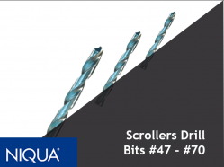 Scrollers Drill Bits