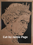 scroll saw portrait patterns the queen