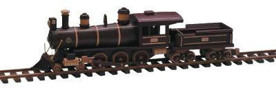 Locomotive-Tender and Track Woodworking Pattern | Bear Woods Supply