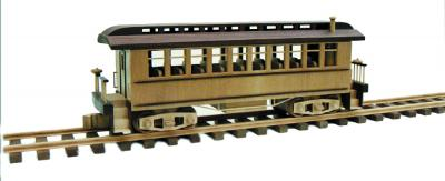 Passenger Car Woodworking Pattern | Bear Woods Supply