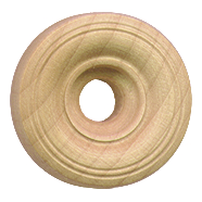 Treaded Toy Wheel Wooden